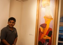 Atreya liked the Krishen Khanna painting